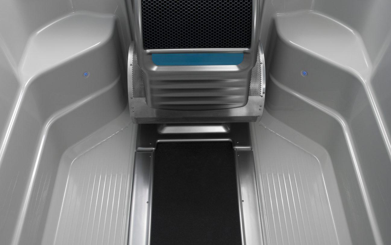Die Endless Pools® Swim Machine und das optional erhätliche Unterwasser Laufband