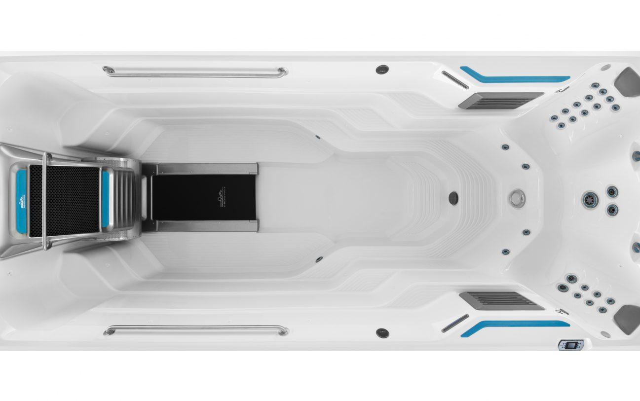 5 m E700 von oben in in Alpine Weiß