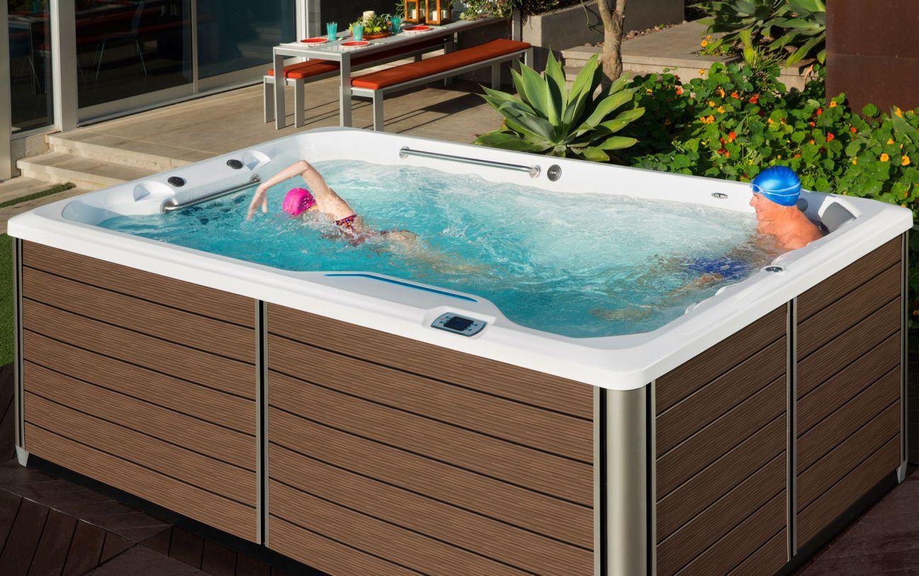 Das Design der SwimCross ™ Schwimmdüsen führen zu einer stärkeren Widerstandsfähigkeit beim Schwimmen mit weniger Turbulenzen als andere Schwimmbäder auf dem Markt.