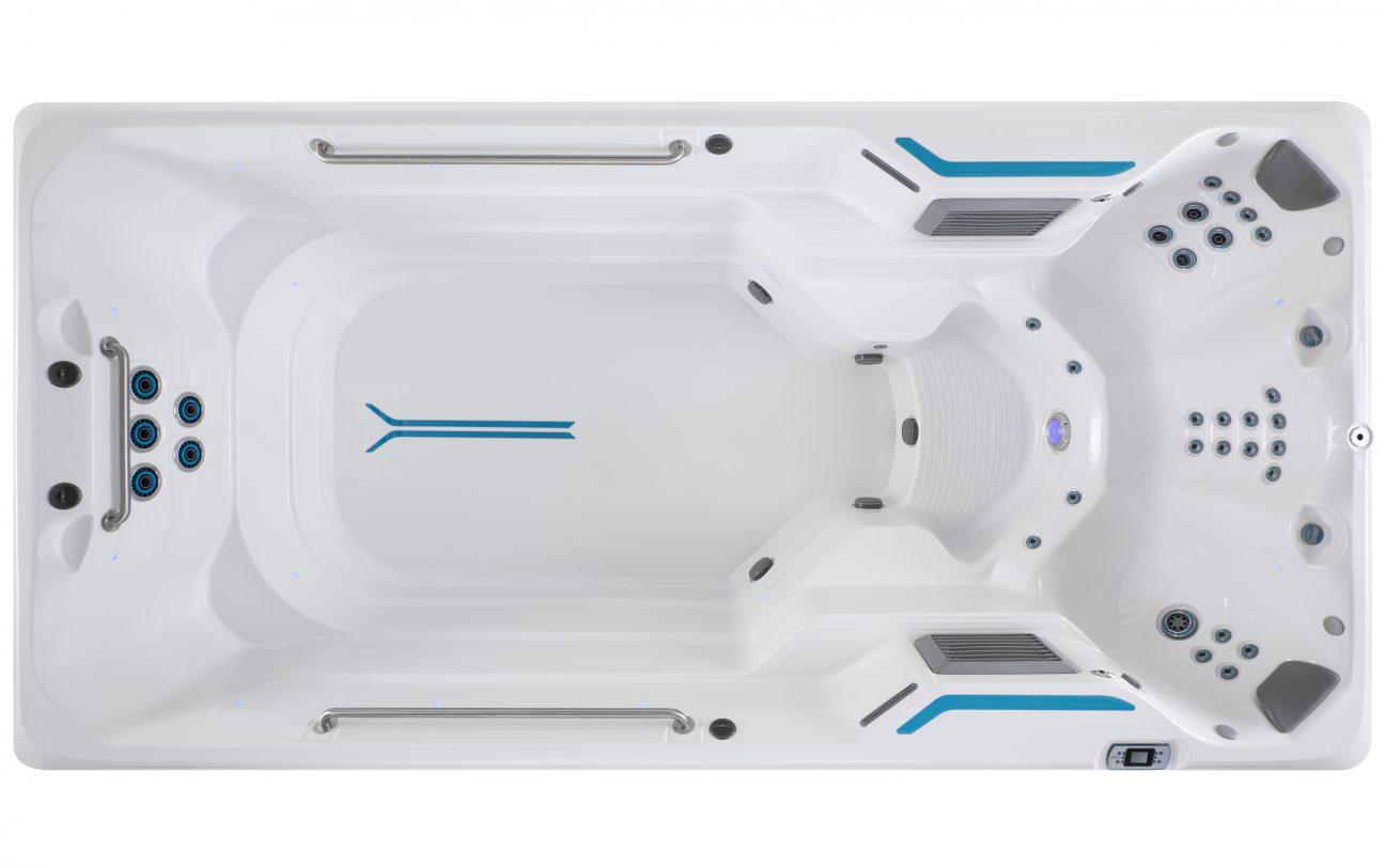 4,5 m lange X500 von oben